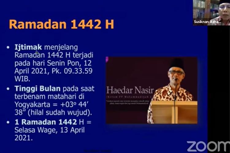 Kriteria Awal Bulan Menurut Muhammadiyah