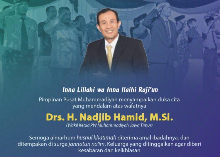 Muhammadiyah Berduka, Nadjib Hamid Meninggal Dunia