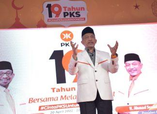 19 Tahun PKS, Presiden PKS Beri Catatan Soal Demokrasi, Otonomi dan Penegakan HAM