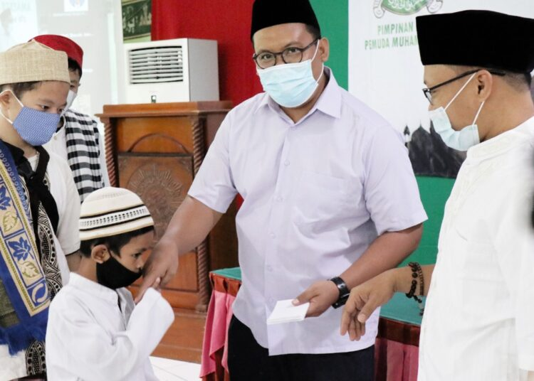 Pemuda Muhammadiyah Gelar Giat Ramadan Bersama Anak Yatim Piatu