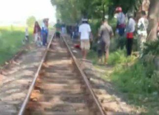Warga Sidoarjo Tewas Tertabrak Kereta Saat Ngopi dan Terima Telepon di Rel