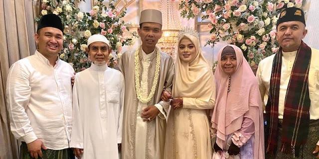 Kado Pernikahan, Ustadz Somad Hadiahi Pesantren Untuk Fatimah Az Zahra