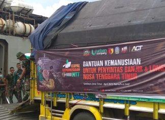 Urban Company Gandeng ACT Salurkan Bantuan Untuk Korban Bencana Bima Dan NTT