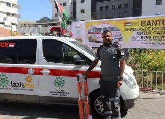 Ambulans Bantuan Muhammadiyah Telah sampai di Palestina
