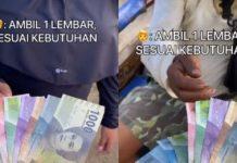 Ditawari Uang, Cewek Ini Lebih Pilih Rp 10 Ribu, Alasannya Menyentuh