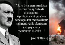 Ucapan Adolf Hitler soal Yahudi yang Baru Dirasakan Sekarang...