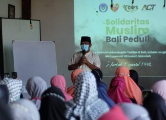 Sumbang Ambulan untuk Palestina, Majelis Ta'lim Bentuk Solidaritas Muslim Bali Peduli