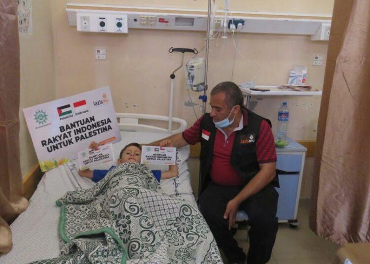 Bantuan Muhammadiyah Telah Diterima Korban Agresi Militer di Gaza