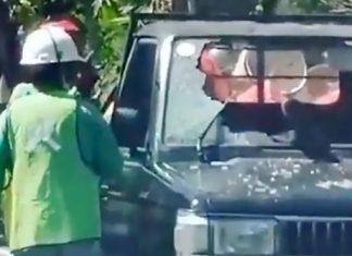 Remaja Di Denpasar Diduga Sengaja Tabrakkan Diri ke Mobil yang Melintas