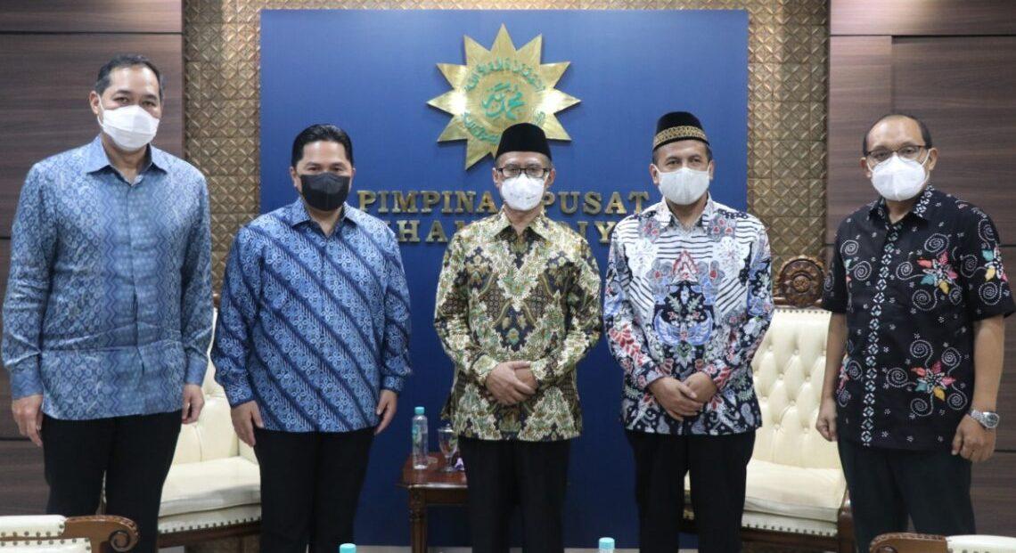 Muhammadiyah, Menteri BUMN dan Mendag Bawa Misi Khusus Dari Presiden