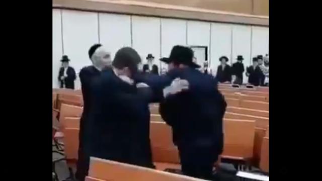 Viral Video Baku Hantam Sesama Yahudi: Keluarlah dari Palestina! Kutukan untuk Orang Israel telah Tiba