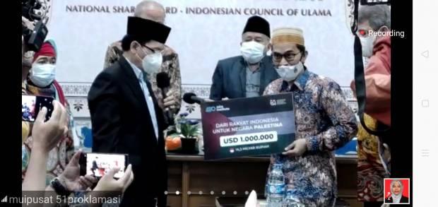Enam Hari, Ustadz Adi Hidayat Himpun Donasi Rp 30 Miliar untuk Palestina