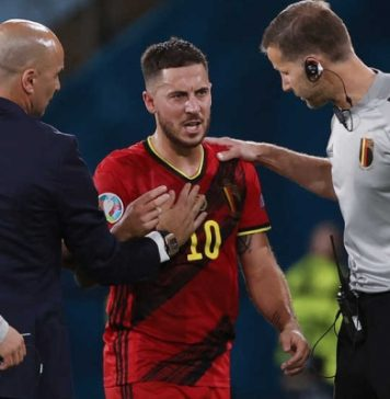 Belgia Lolos, Tetapi De Bruyne Dan Hazard Cedera