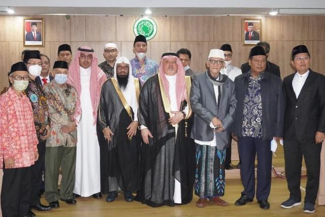 Kunjungi MUI, Dubes Saudi Arabia Jelaskan Soal Undangan Haji