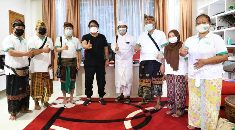 Bupati Badung Giri Prasta Terima Audiensi Eco-Enzyme Nusantara