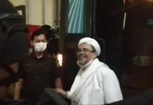 Habib Rizieq Diponis 4 Tahun Penjara Kasus Tes Swab