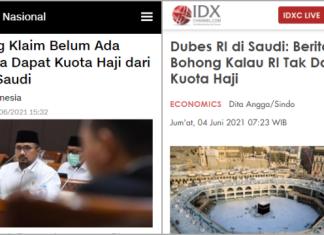 Arab Saudi Bantah Indonesia Tak Dapat Kuota Haji, Tagar #MenagUnfaedah Trending Topic
