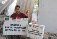 NU Care-LAZISNU Salurkan Bantuan Dari Rakyat Indonesia Untuk Palestina
