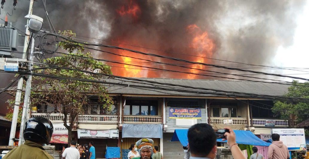 Pasar Tradisional Blahbatuh Kebakaran
