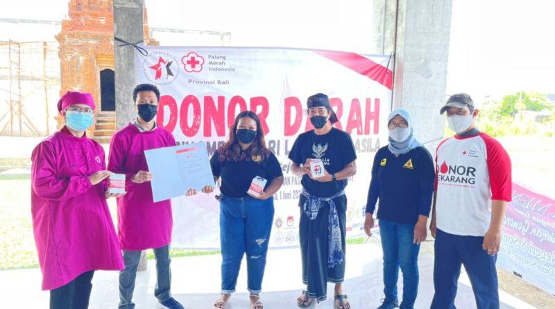 Atasi Krisis Darah, Pasraman Satyam Eva Jayate Gelar Donor Darah