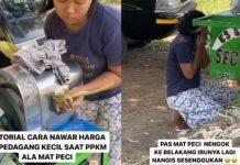 """Terharu, Tantowi Yahya Unggah Video Penjual Es Tebu Jongkok Menangis Usai Jualan """"Ditawar"""""""