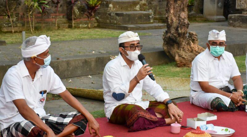Walikota Denpasar Canangkan 100 Persen Vaksinasi Dan Isoman Terpusat Berbasis Desa Adat