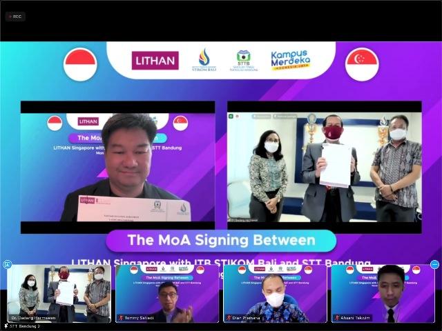 Terobosan ITB STIKOM Bali Luncurkan Kuliah Sambil Magang Online di Singapura dan Digaji