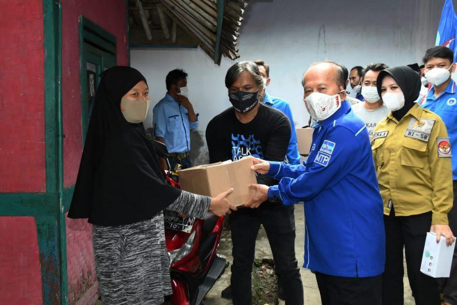 Pandemi Covid-19 Belum Usai, Syarief Hasan: Rakyat Terdampak Butuh Perhatian dan Uluran Tangan Tulus