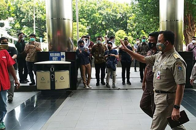 Anies Baswedan Diperiksa KPK Sebagai Saksi Kasus Dugaan Korupsi