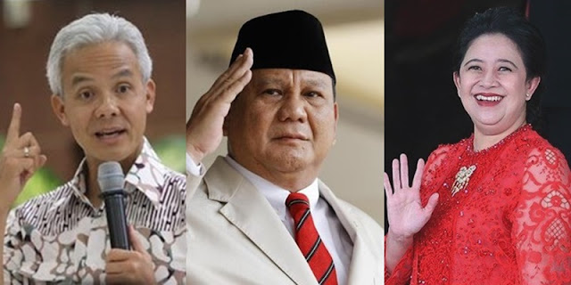 Polling 24 Jam: Prabowo-Ganjar Lebih Didambakan daripada Prabowo Gandeng Puan