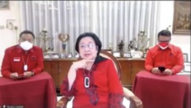 Suara Terdengar Parau, Megawati: Alhamdulillah Saya Sehat, Tak Kurang Satu Apapun