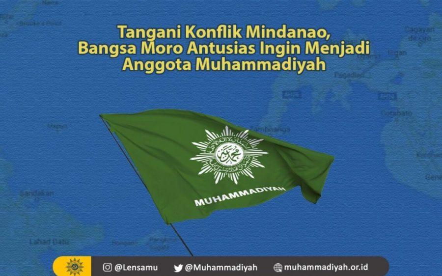 Tangani Konflik Mindanao, Suku Moro Antusias Ingin Menjadi Anggota Muhammadiyah Filipina