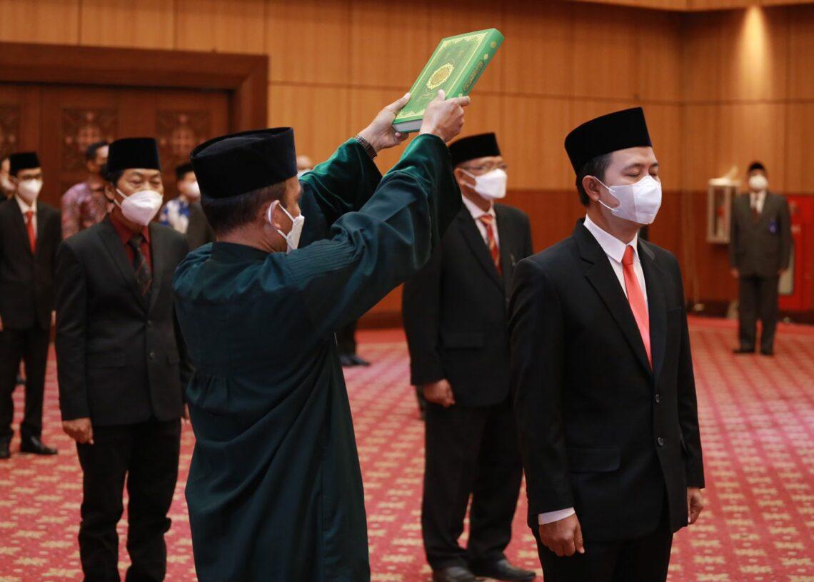 Ketua Lazismu Hilman Latief Dilantik Menjadi Dirjen Penyelenggaraan Haji dan Umrah